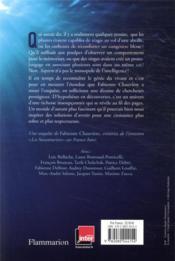 L'intelligence du vivant : dix scientifiques racontent - 4ème de couverture - Format classique