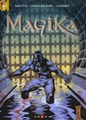 Magika t.1 ; rêves de sang - Couverture - Format classique