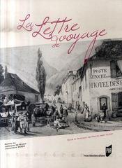 La lettre de voyage - Intérieur - Format classique