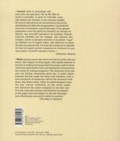 Unica zürn - 4ème de couverture - Format classique