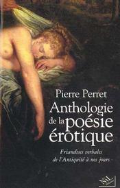 Anthologie de la poesie erotique - ne - Intérieur - Format classique