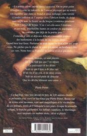 Anthologie de la poesie erotique - ne - 4ème de couverture - Format classique
