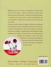200 idées créatives pour moi & ma maison - 4ème de couverture - Format classique