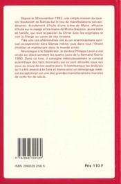 Constat medical des evenements de soufanieh - 4ème de couverture - Format classique