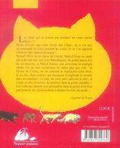 L'école des chats ; INTEGRALE T.1 A T.3 ; le secret de la grotte de cristal ; le cadeau magique ; la prophétie se réalise - 4ème de couverture - Format classique