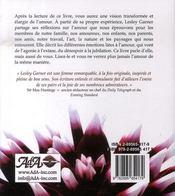 Tout ce que la vie m'a appris sur l'amour - 4ème de couverture - Format classique