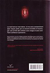 La trilogie du gardien t.1 ; Mu le feu sacré de la terre - 4ème de couverture - Format classique