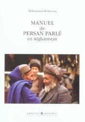 Manuel De Persan Parle En Afghanistan + Cd (2e Ed) - Intérieur - Format classique