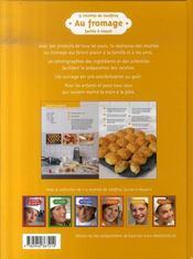 15 recettes de Geoffroy ; au fromage - 4ème de couverture - Format classique