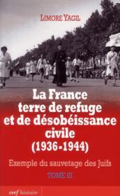 La France Terre De Refuge Et De Desobeissance Civile - Couverture - Format classique