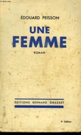 Une Femme. - Couverture - Format classique