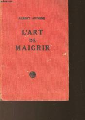 L'Art De Maigrir - Couverture - Format classique