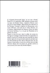 Saufs riverains - 4ème de couverture - Format classique