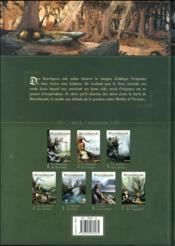 Brocéliande ; forêt du petit peuple T.1 ; la fontaine de Barenton - 4ème de couverture - Format classique