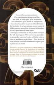 Le livre des nombres : les secrets de la plus belle invention de l'humanité - 4ème de couverture - Format classique