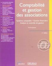Comptabilité et gestion des associations ; système comptable, gestion financière, analyse et contrôle de gestion (11e édition) - Intérieur - Format classique
