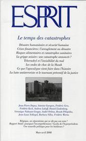 Revue Esprit ; Le Temps Des Catastrophes - Intérieur - Format classique