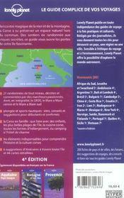 Corse 4ed (4e édition) - 4ème de couverture - Format classique