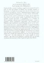 La cuisine des flibustiers - 4ème de couverture - Format classique