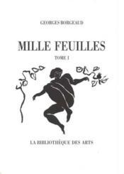 Mille Feuilles - Couverture - Format classique
