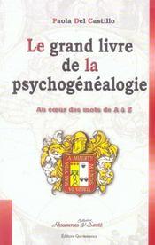 Grand livre de la psychogénéalogie - Intérieur - Format classique
