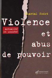 Violence Et Abus De Pouvoir - Intérieur - Format classique
