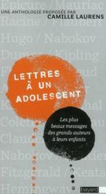 Lettres à un adolescent - Couverture - Format classique