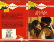 Le Choix De Judith - The Thrill Of Victory - Couverture - Format classique