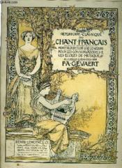 Repertoire Classique Du Chant Francais N°312 - Couverture - Format classique