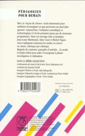 Decouverte De La Matiere Et De La Technique - 4ème de couverture - Format classique