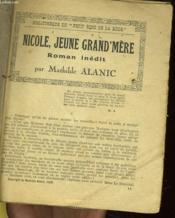 Nicole, Jeune Grand'Mere - Couverture - Format classique