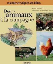 Des animaux à la campagne - Couverture - Format classique