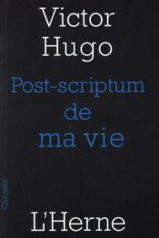 Post-scriptum de ma vie - Couverture - Format classique