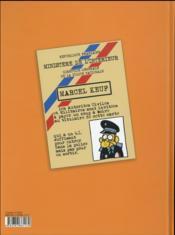 Marcel Keuf le flic - 4ème de couverture - Format classique
