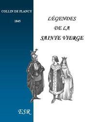 Legendes De La Sainte Vierge - Couverture - Format classique