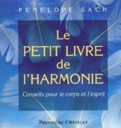 Le Petit Livre De L'Harmonie - Couverture - Format classique
