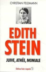 Edith stein juive athee - Couverture - Format classique