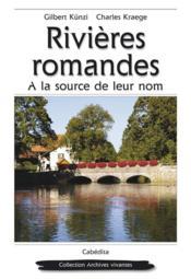 Rivieres Romandes - Couverture - Format classique