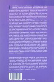 Dyscalculie : trouble du developpement numerique de l'enfant (la) - 4ème de couverture - Format classique