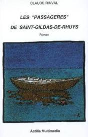 Les passagères de saint gildas de rhuys - Couverture - Format classique