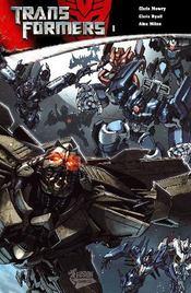 Transformers t.1 - Couverture - Format classique