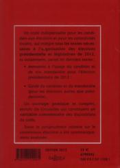 Code électoral (édition 2012) - 4ème de couverture - Format classique