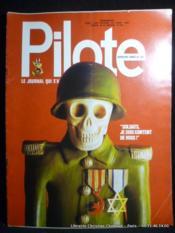 Revue Pilote n°730 Soldats, je suis content de vous ! - Couverture - Format classique