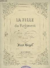 La Fille Du Regiment - Petite Fantaisie Pour Piano. - Couverture - Format classique