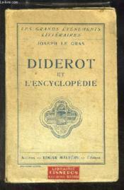 Diderot et l'Encyclopédie. - Couverture - Format classique