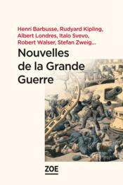 Nouvelles de la Grande Guerre - Couverture - Format classique