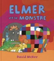 Elmer et le monstre - Couverture - Format classique