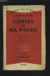 Contes De Ma Patrie - Fenetres Sur Le Monde 2. - Couverture - Format classique