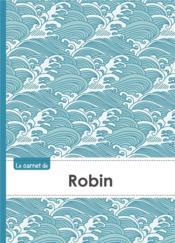 Carnet Robin Lignes,96p,A5 Vaguejaponaise - Couverture - Format classique