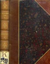 Poesies, Tome I - Couverture - Format classique